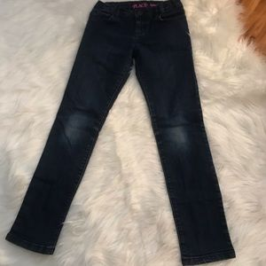 Children's place super skinny blue jeans